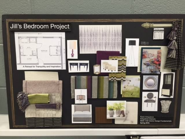 Student Showcase And Open House Interior Design Fundamentals Project. U2014 At  Athens Technical College.