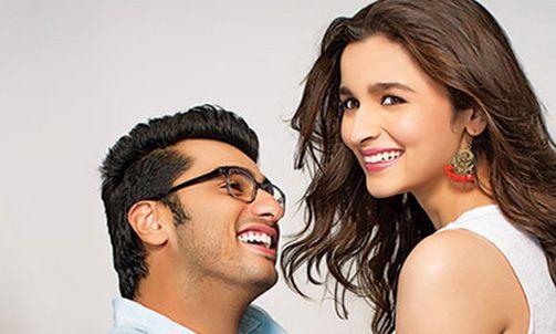 Watch Arjun Kapoor Alia Bhatt Kiss In 2 States Trailer