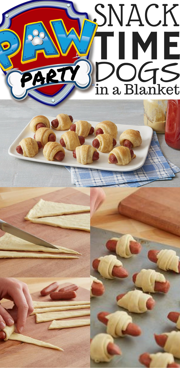 paw patrol party ideas theme menu kids birthday food cheap snacks for children birthday on a budget hot dogs pillsbury dogs in a blanket