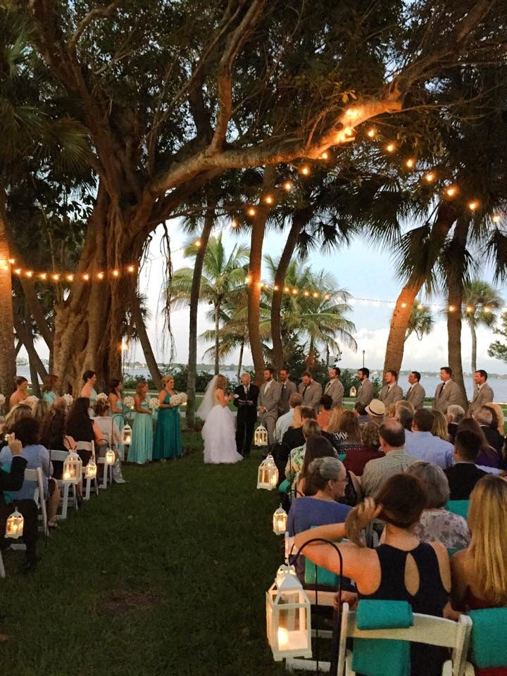 Beautiful Wedding Flagler Place Stuart Fl