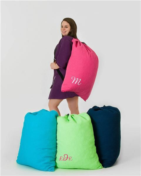 Graduation Gift Laundry Bag With Name Or Monogram Bags