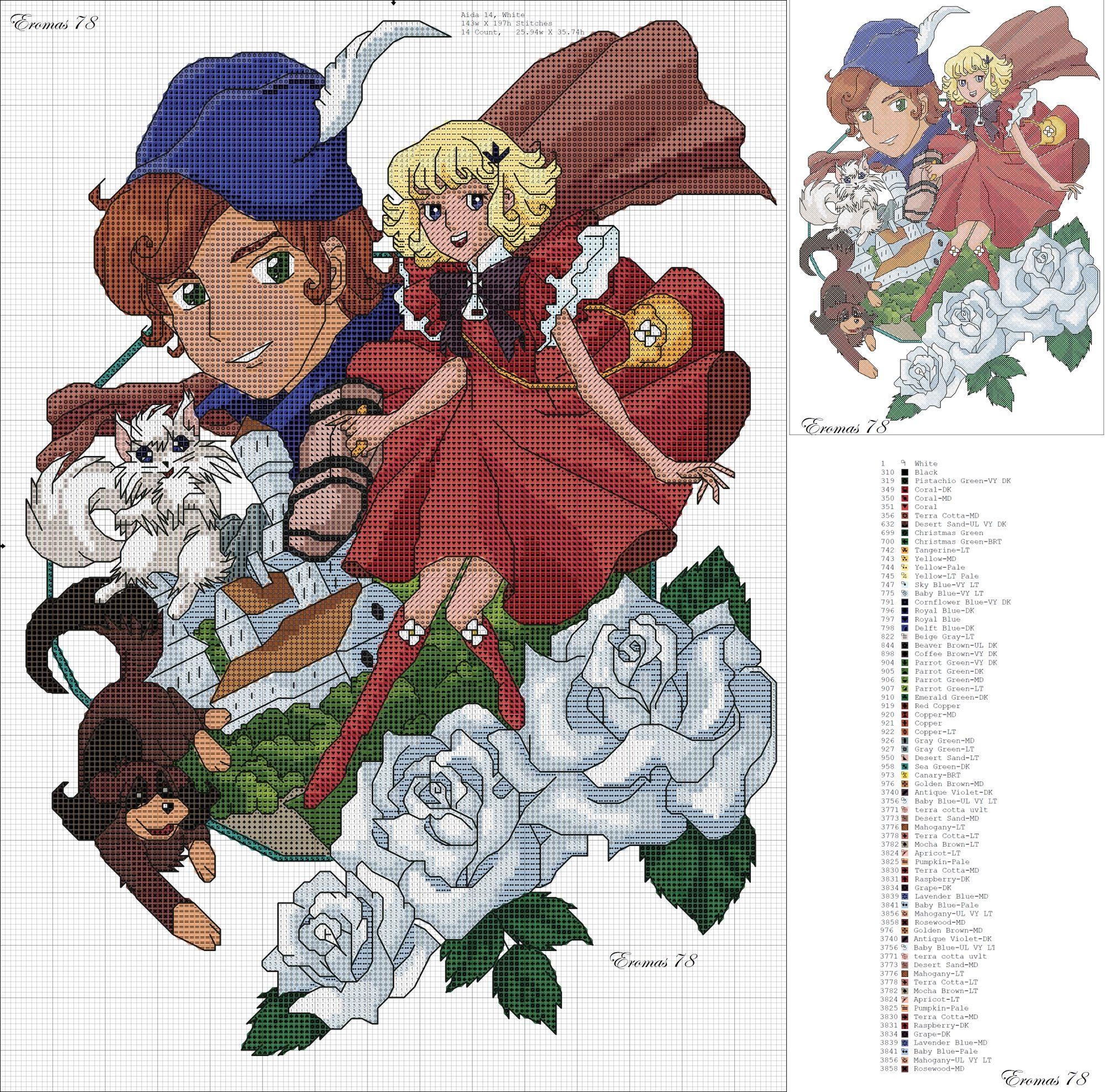 26++ Anime cross stitch patterns free ideas