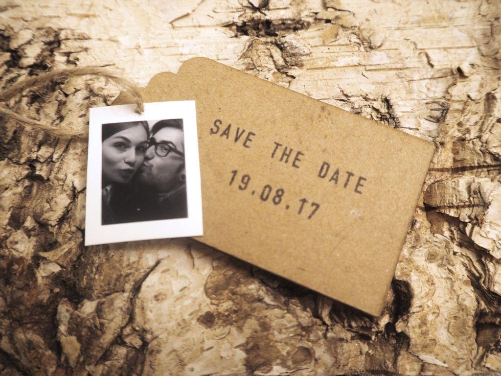 Save The Date Karten Vintage.Diy Save The Date Karten Für Deine Vintage Hochzeit Tying The Knot