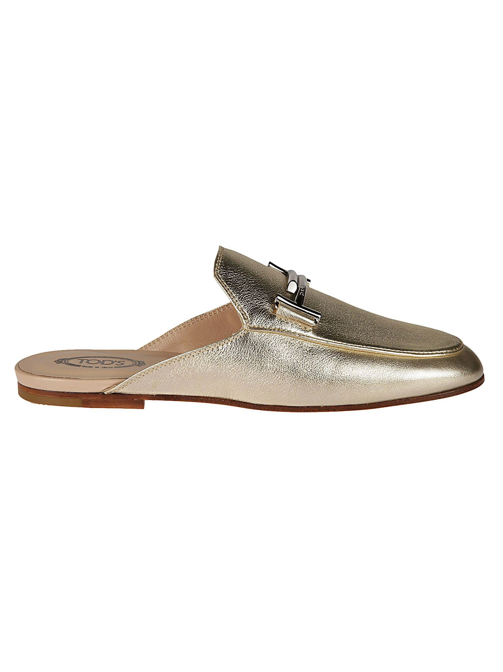 Tod's Double T Flat Mules Shop For Online Cheap Collections jsRDfOUxeE