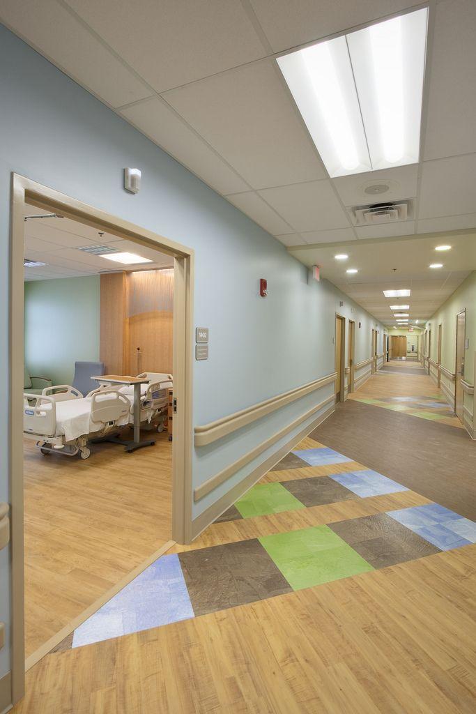 Hospital Room Interior Design: LDRP Floor Corridor: Appalachian Regional Healthcare