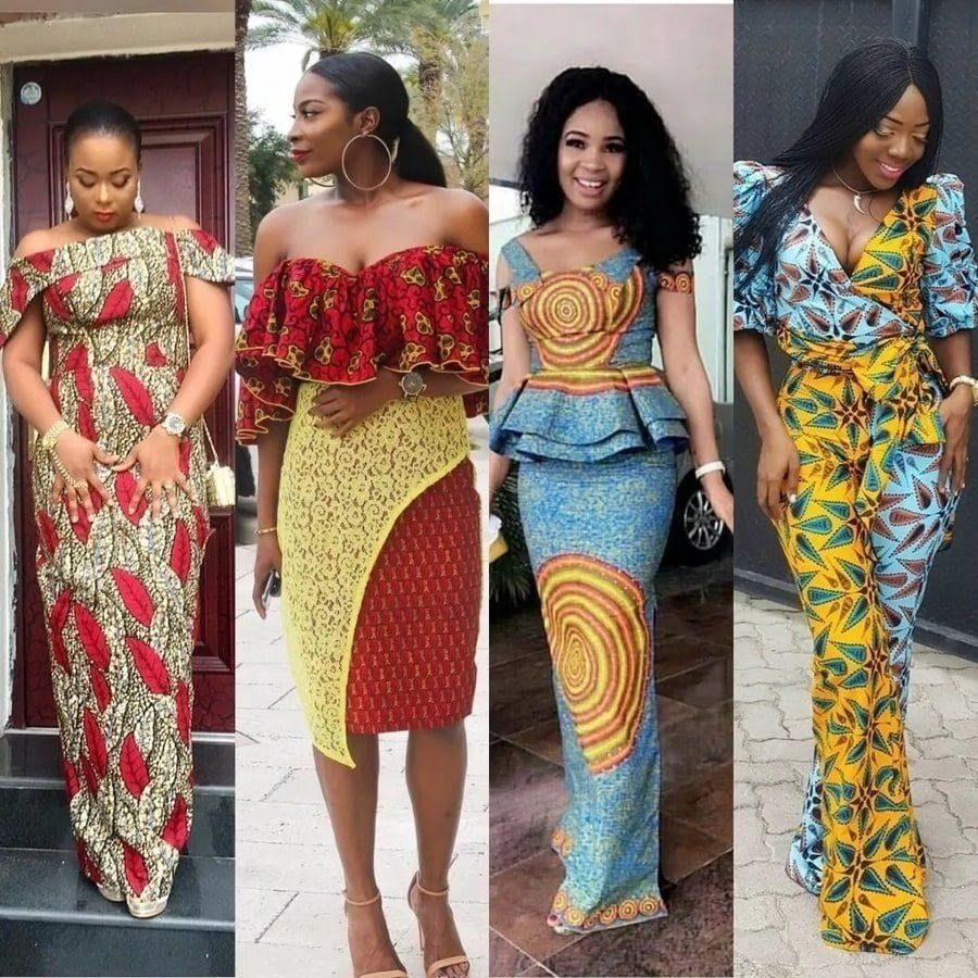 Ankara Styles 2017 For Ladiesankara Styles Skirt And Blouselatest