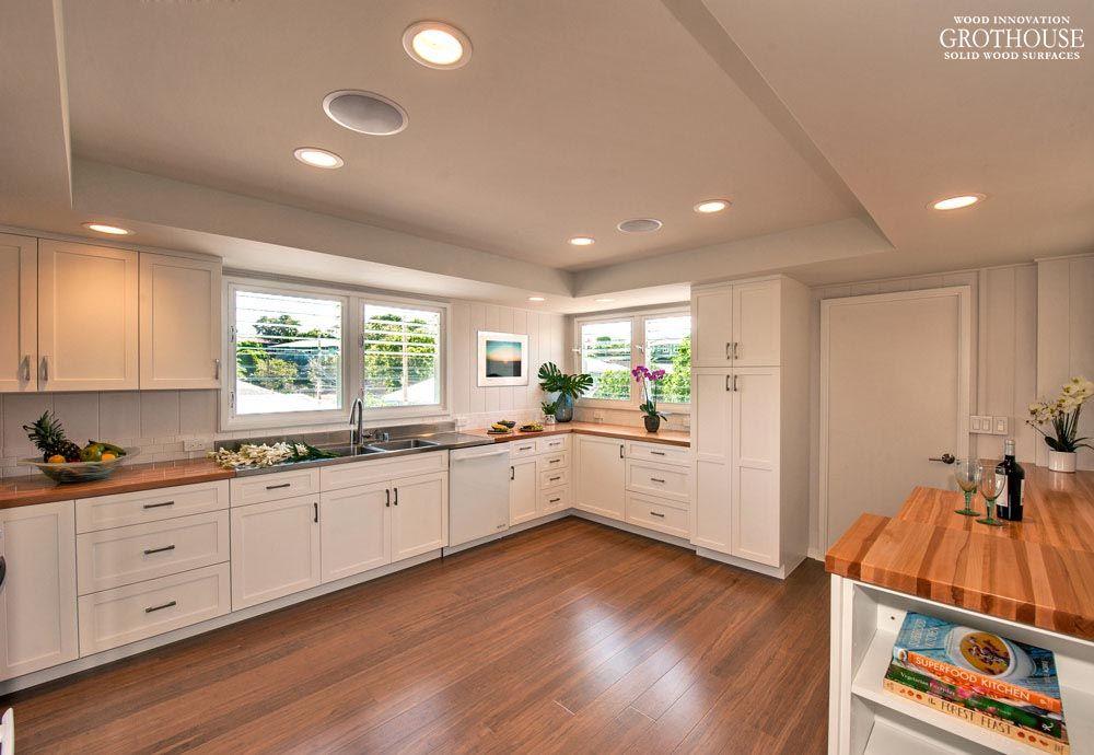 American Beech Countertops Design By Archipelago Hawaii  Https://www.glumber.com