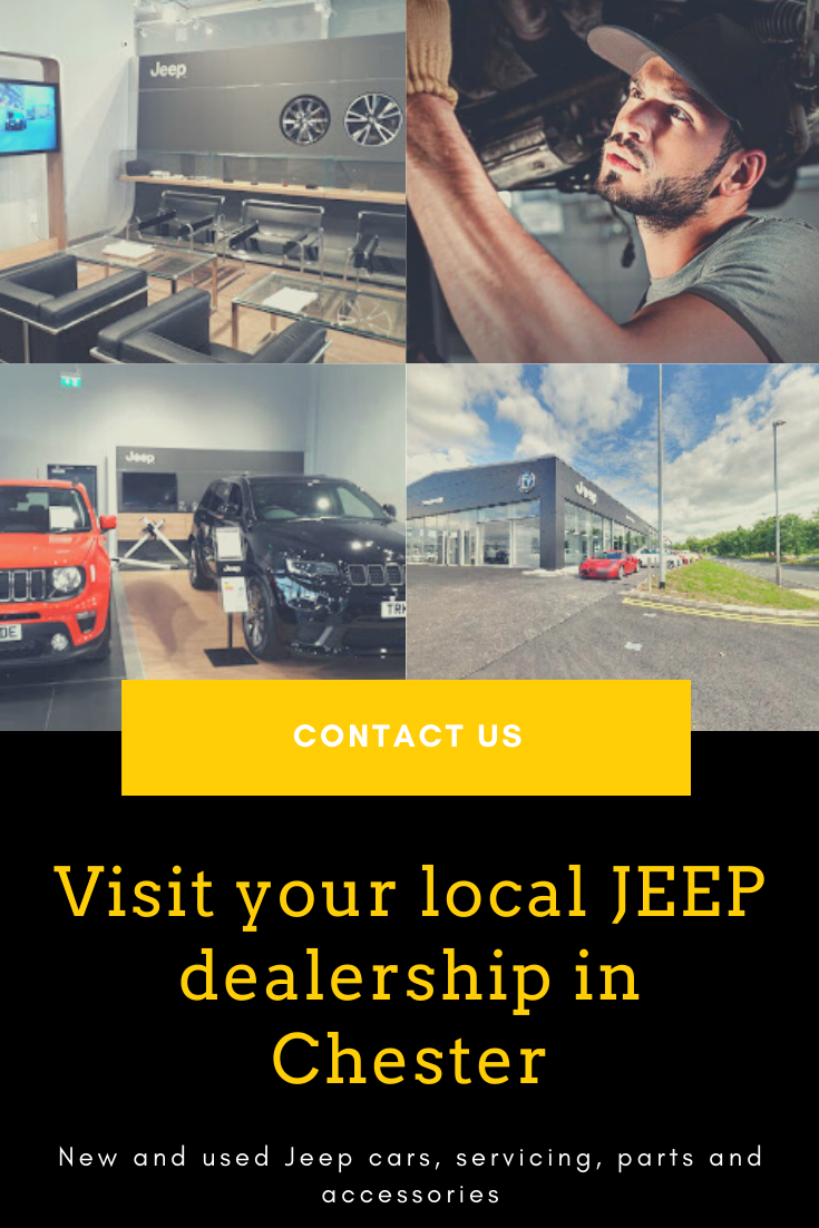 Here At Our Jeep Dealership In Chester We Stock The Complete Range