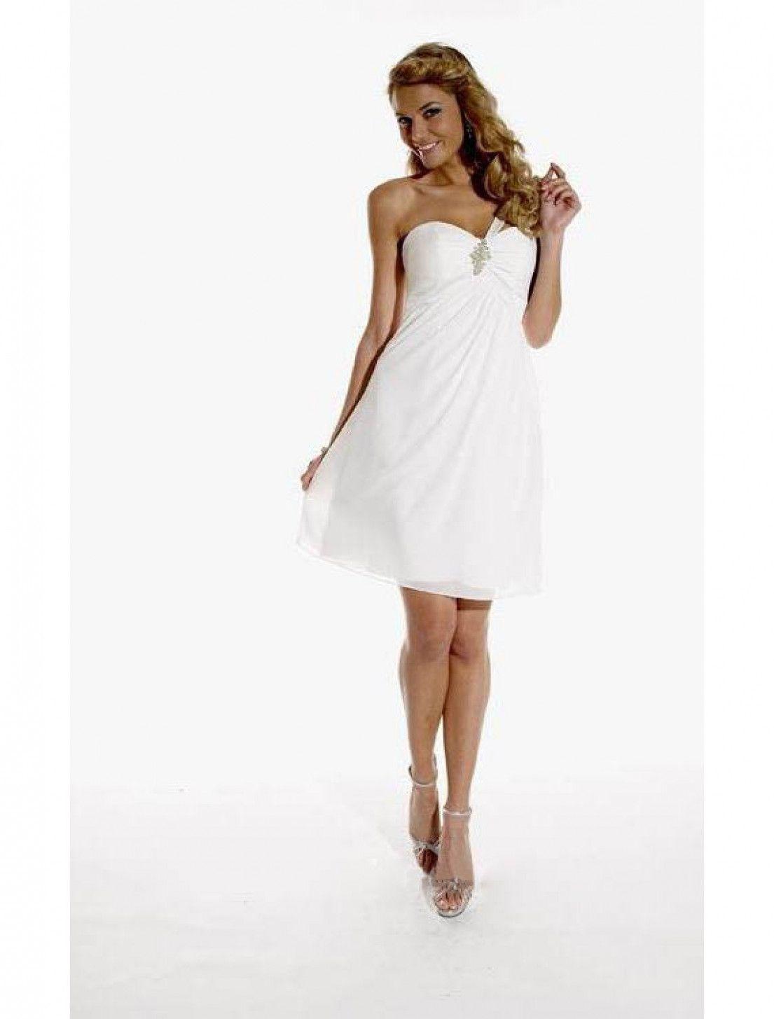 20 Elegante Weiße Kleider in 20  Abendkleid, Kurzes abendkleid
