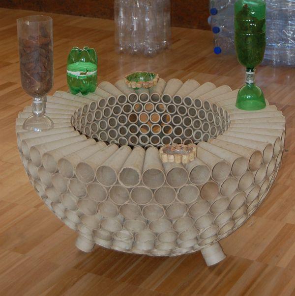 20 Ideias De Artesanato Com Cones De Linha Artesanato De Tubo De