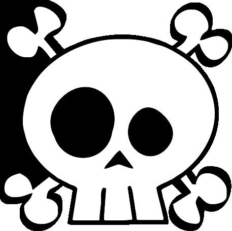 Skull  Crossbones Kids TShirt  Sandbox Threads  ClipArt Best