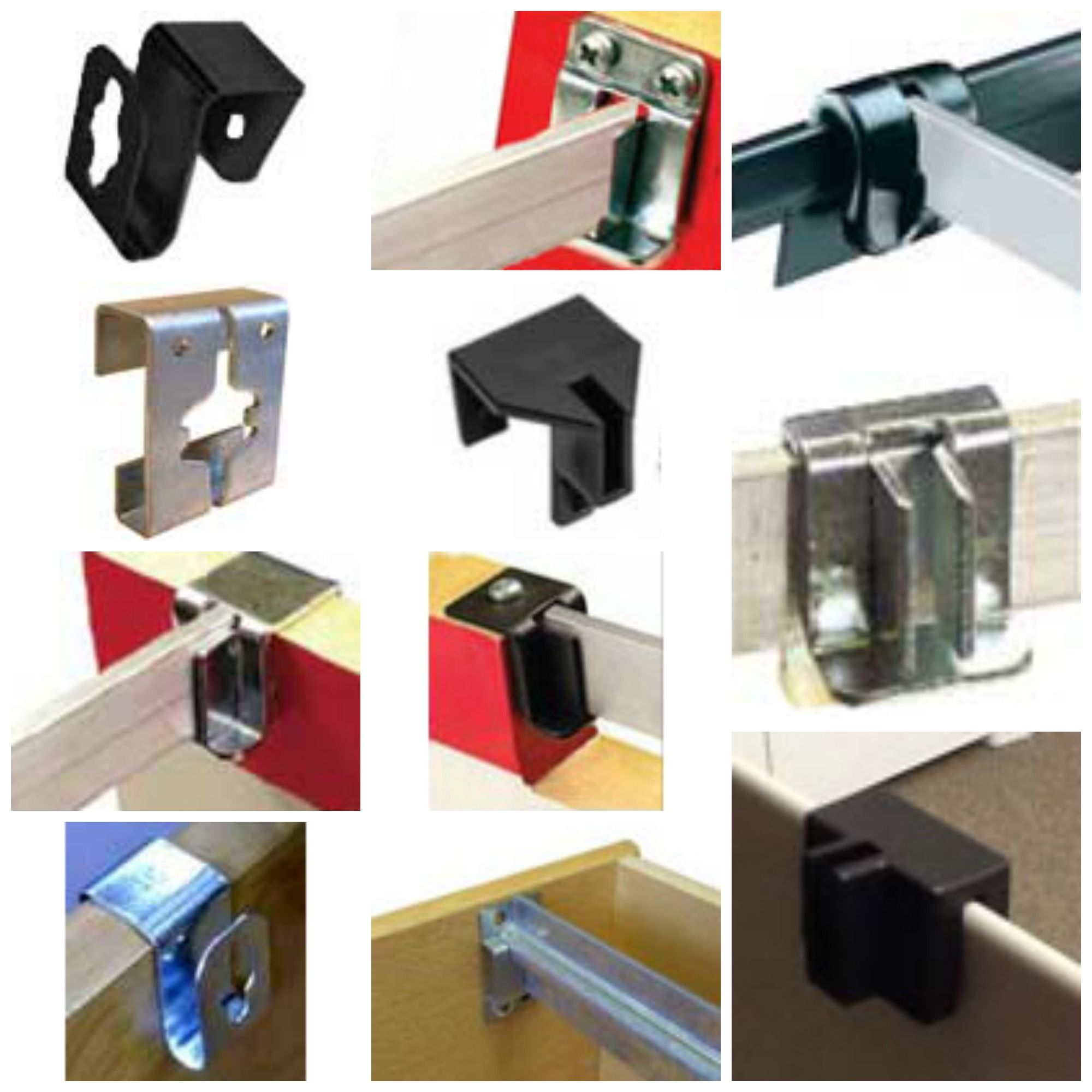 Hanging File Bracket Clips for Hanging File Bars, File Rods & File ...