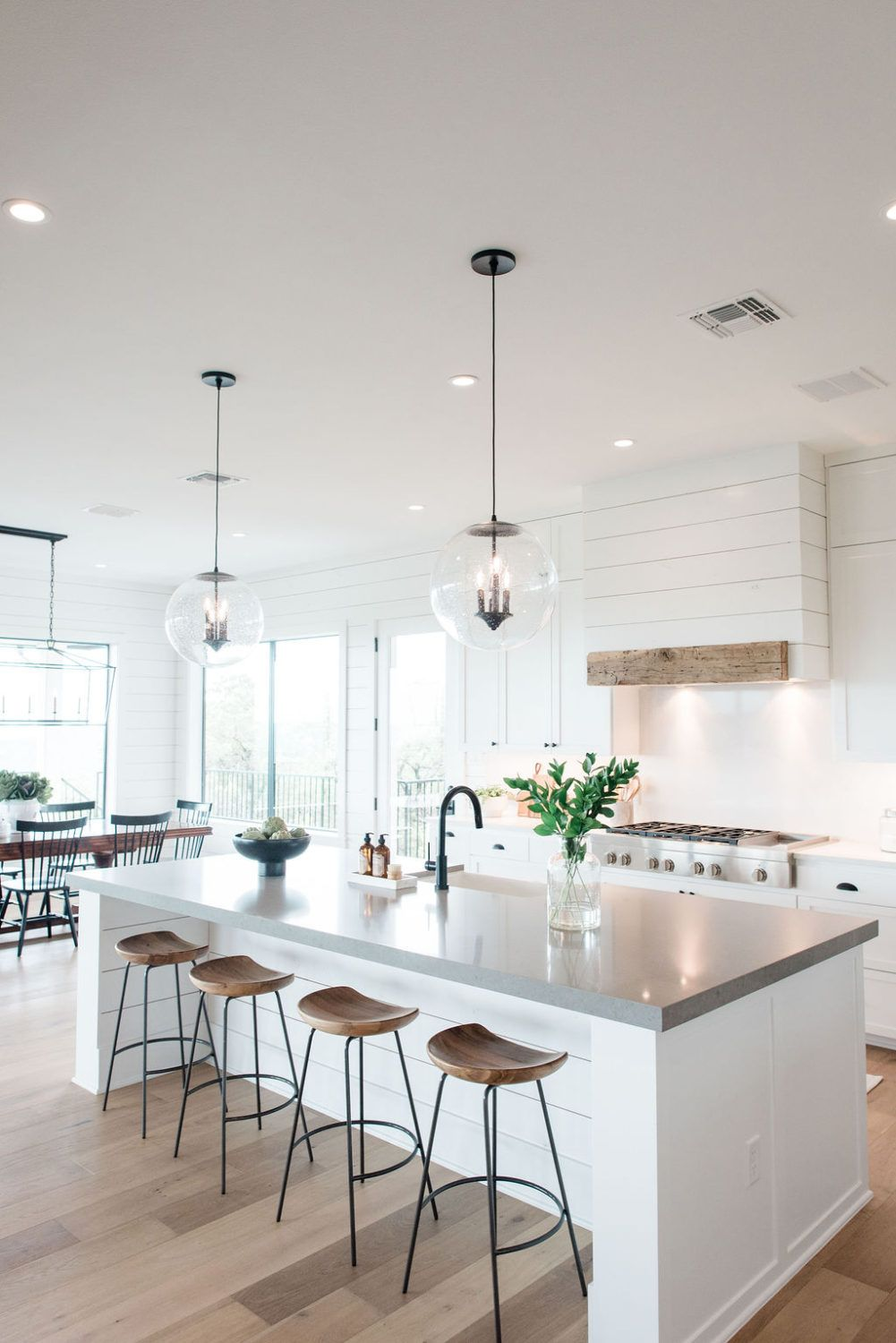 Take A Peek at this Sustainable Green Home That Doesn't Sacrifice Style | lark & linen #home