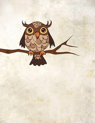 'Owl' by Angela Taratuta