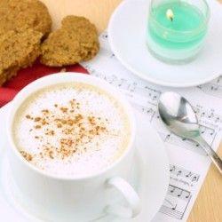 Healthy Gingerbread Latte
