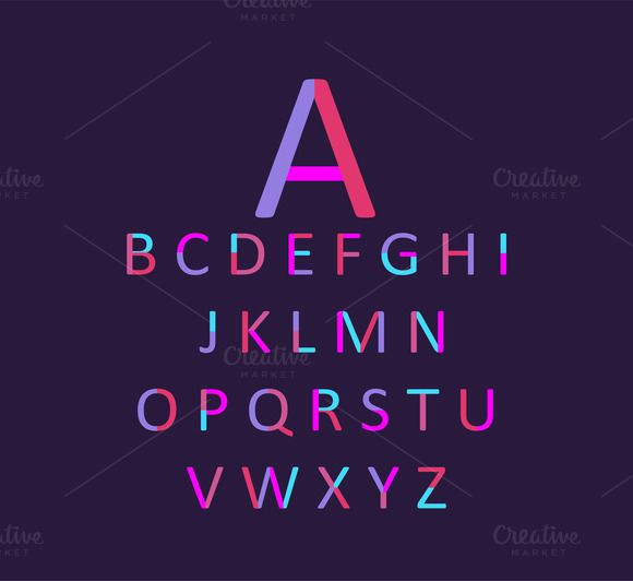 Neon font purple and pink vector by ralelav on @mywpthemes_xyz