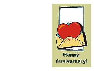 Card Templates For Word Anniversary Card Templates  10 Free Printable Word & Pdf .