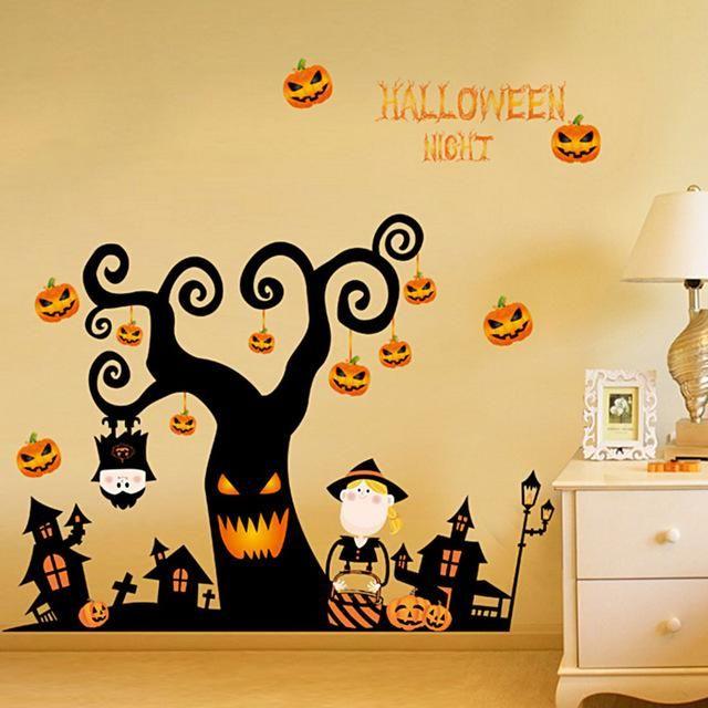 3d halloween wall sticker | halloween | pinterest | halloween