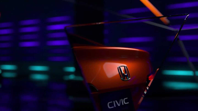 2022 Honda Civic Sedan Prototype Teasers Honda Civic Sedan Civic Sedan Sedan
