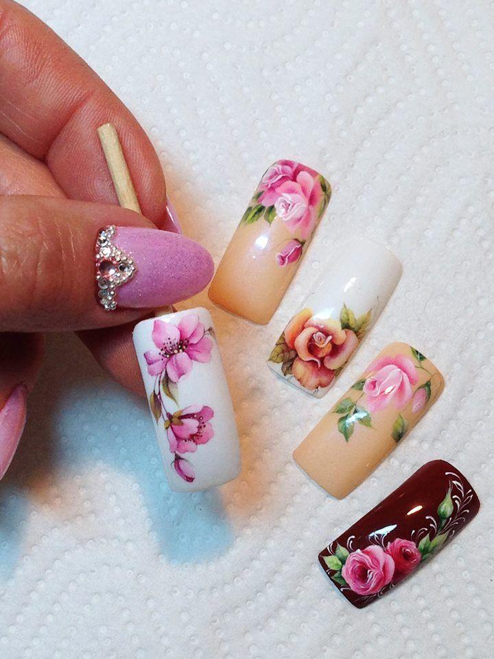 Pin De Anita Flores En Todas Rosadas Pinterest Nail Arts Nails