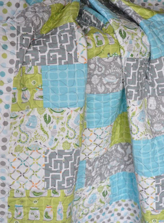 Charmant Quilt Baby/Toddler Backyard Baby Fabric By Peekabootiquequilts