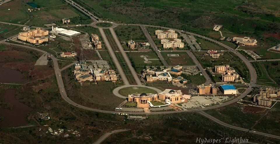 Vaq on | Places to Visit | University of sciences, Aerial