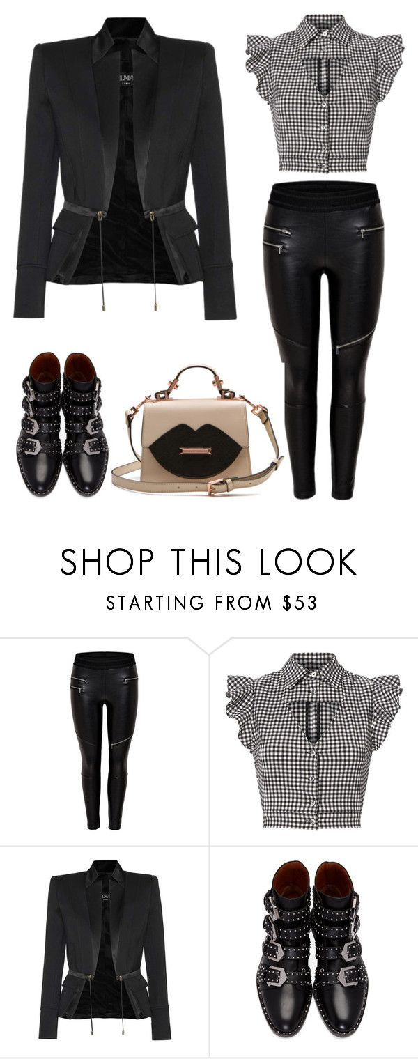 """""""Untitled #2"""" by shewalksinsilence ❤ liked on Polyvore featuring Marissa Webb, Balmain and Givenchy"""