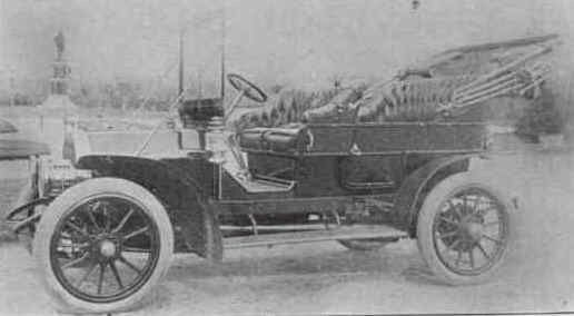 1908 Colburn Touring Automobile Automobile Early American Touring