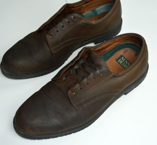 Nunn Bush 11 M Mens Portland Oxford Shoes Loafer Brown Leather