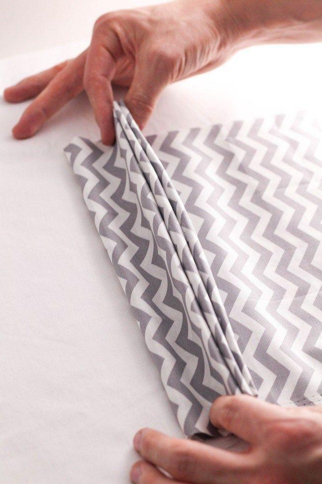 servietten falten facher 17 ideen fa 1 4 r 2 anleitungen im glas