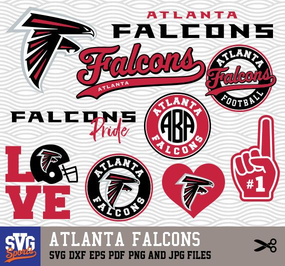 Atlanta Falcons Svg Logos Monogram Silhouette Cricut Cameo Screen Printing Sp 35 Atlanta Falcons Svg Atlanta Falcons Shirts Atlanta Falcons Logo
