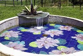 Image result for lily pad flower PAINTINGS