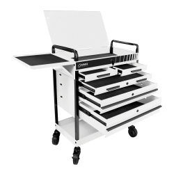 Heavy Duty 5 Drawer Service Cart White Home Improvement Loans