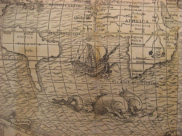 1537 map detail maps with sea monsters collection galleries world map app garden camera finder gumiabroncs Images