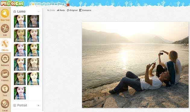 PhotoCat: efectos, marcos y otras herramientas para editar tus fotos online