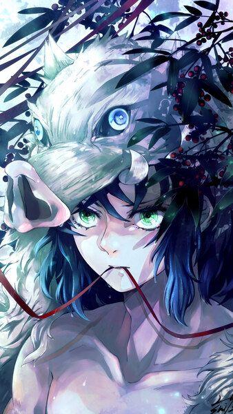 Inosuke Hashibira Unmasked Kimetsu No Yaiba 4k Hd Mobile Smartphone And Pc Desktop Laptop Wallpaper 3840x2160 192 Anime Images Anime Demon Anime Wallpaper