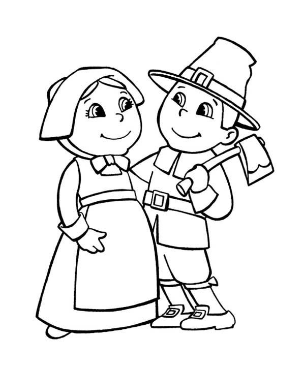 Free Printable Pilgrim Coloring Pages For Kids Free Coloring