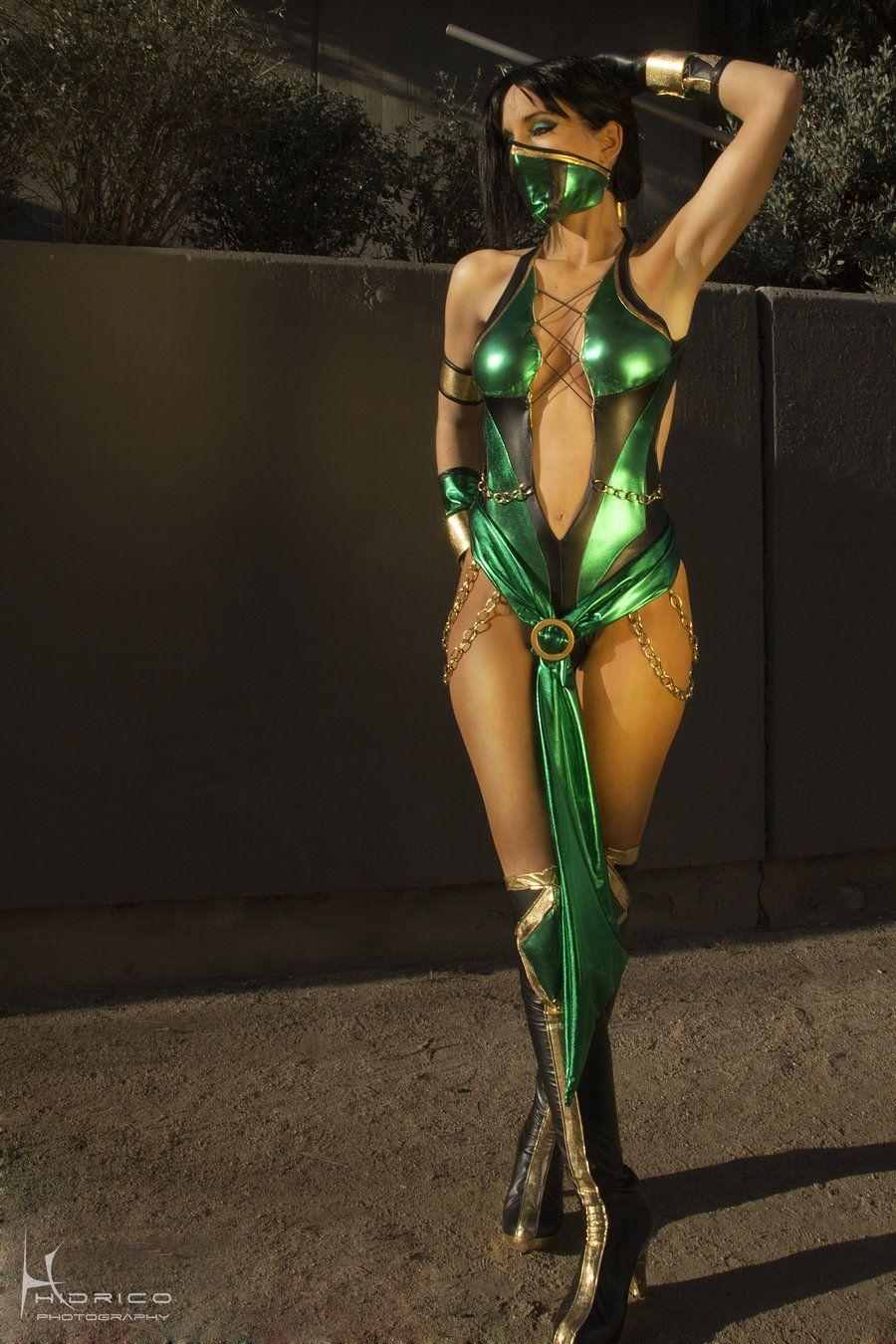 mortal kombat 9 jade by dawnartsdeviantartcom on deviantart my custom - Mortal Kombat Smoke Halloween Costume