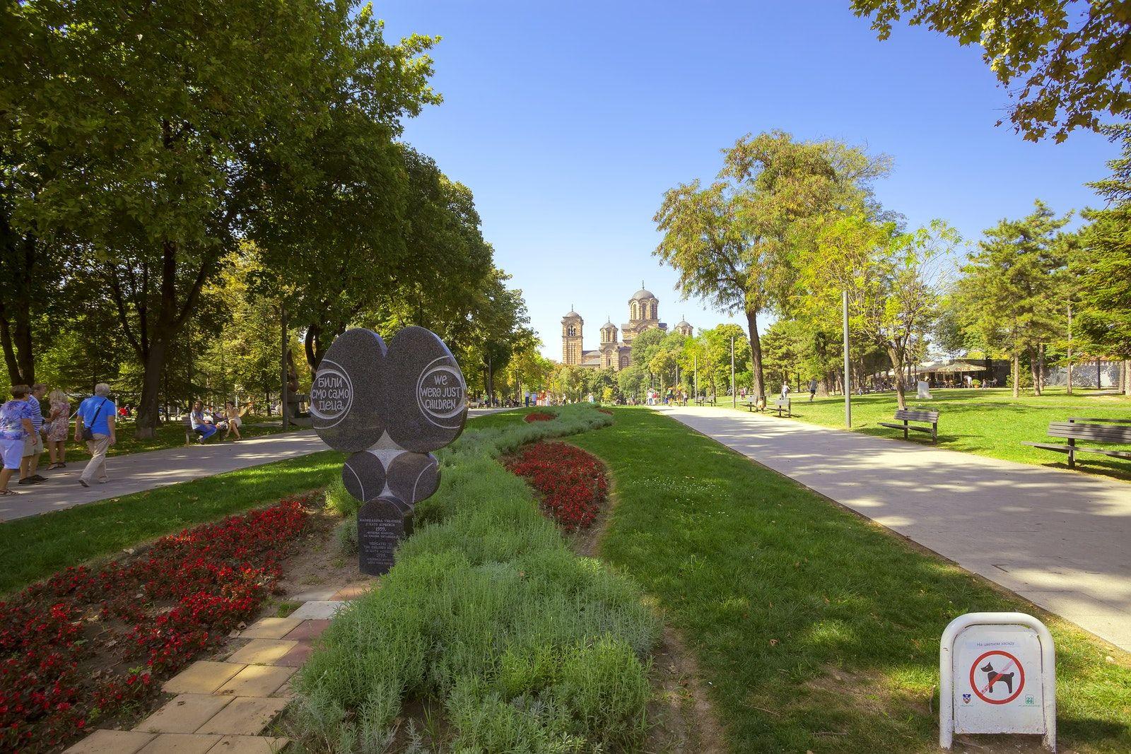Belgrade Greenery Tasmajdan Park Belgrade Park Greenery