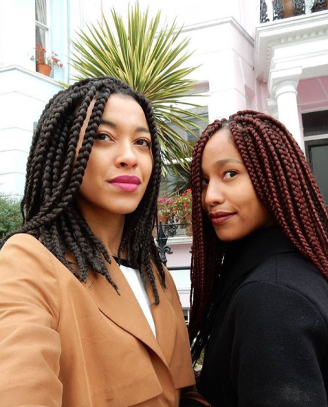 patras nattes avec rajouts box braids sur cheveux cr pus afro naturels nattes tresses. Black Bedroom Furniture Sets. Home Design Ideas