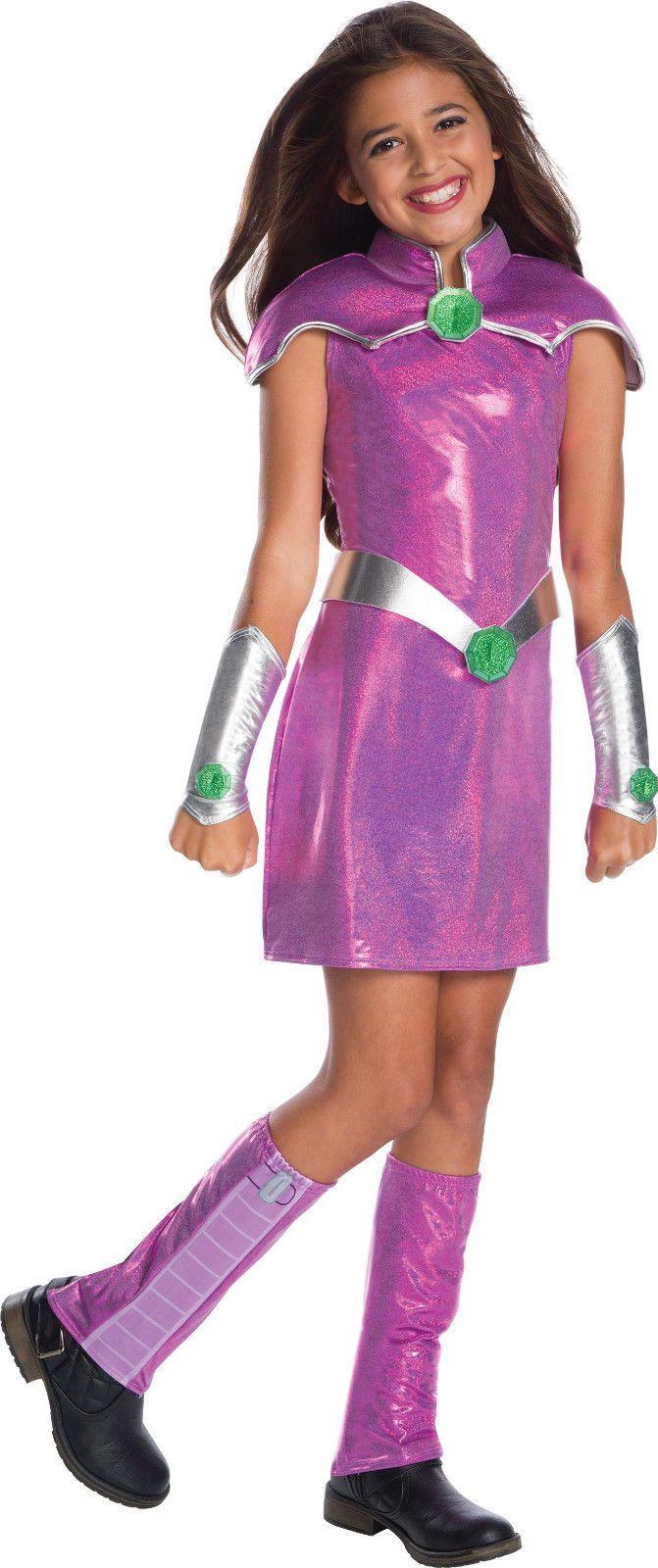 Kids Costumes: Child Starfire Dc Superhero Costume  U003e BUY IT NOW ONLY:  $34.95 On EBay!