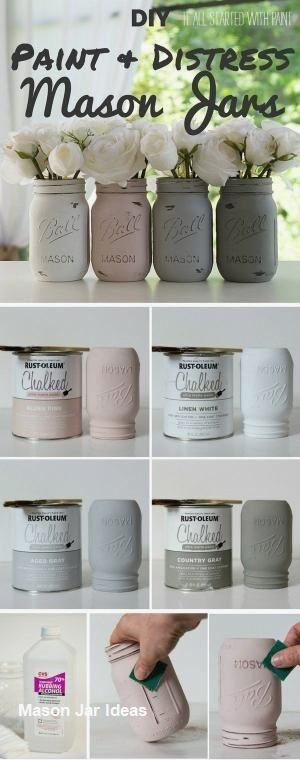 New Mason Jar CraftsNew Mason Jar Crafts #masonjarcraft #masonjarprojects