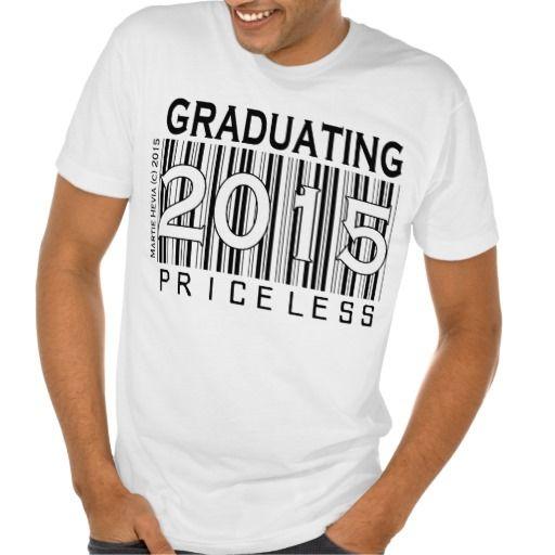 Graduating 2015 Priceless Apparel T Shirt High School