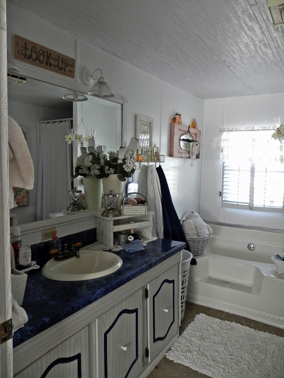 Shannon's Shabby Chic Double Wide Makeover Mobile home