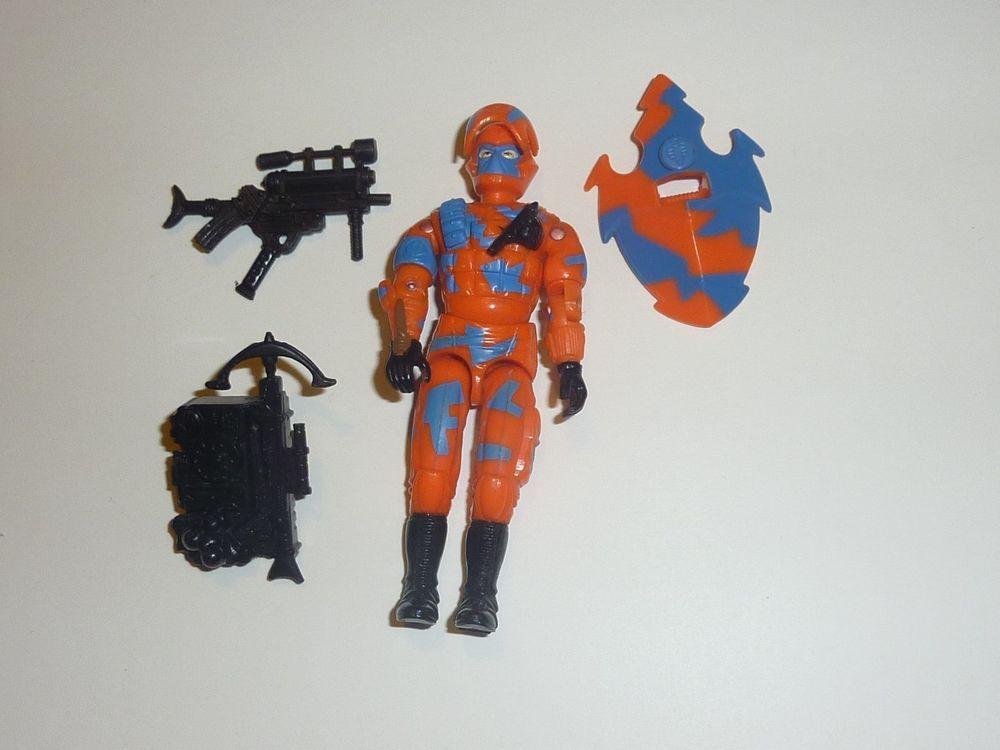 GI Joe Weapon Night Viper Gun 1989 Original Figure Accessory