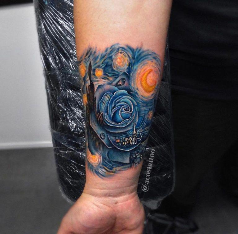 27++ Awesome Van gogh tattoo sleeve image HD