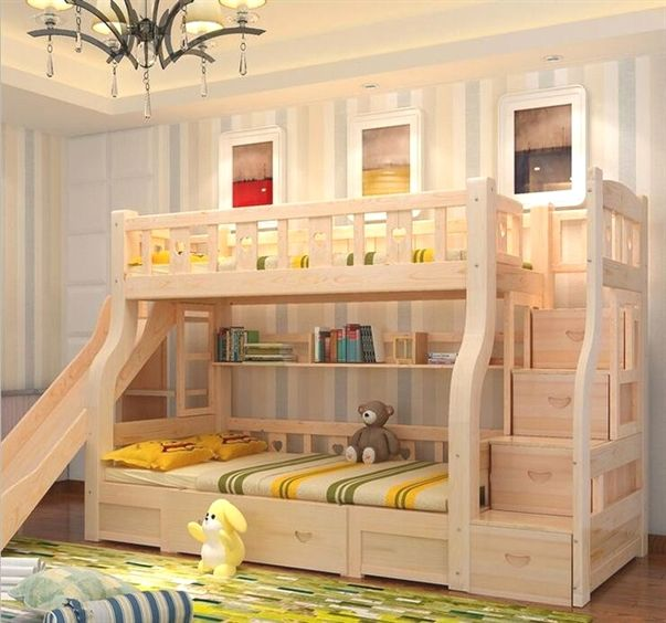Cute Bunk Bed Corner Ideas Bunk Beds Source Https Colorado Baby Baby Myshopify Com Products Childrens Bunk Beds Kids Beds With Storage Bunk Bed With Slide