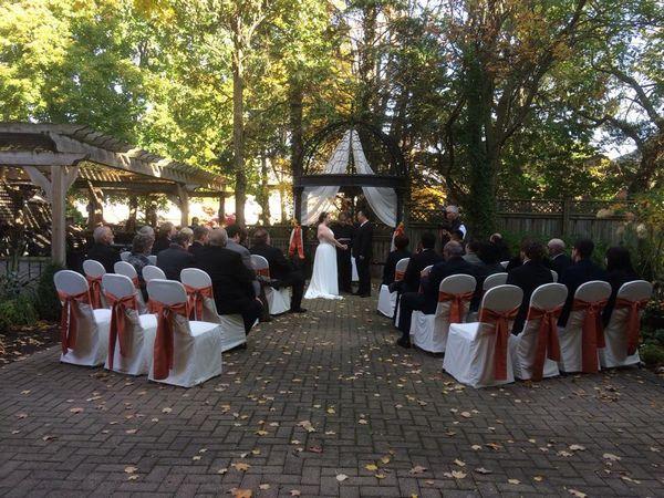 Idlewyld Inn Outdoor Wedding CeremoniesOutdoor WeddingsWedding