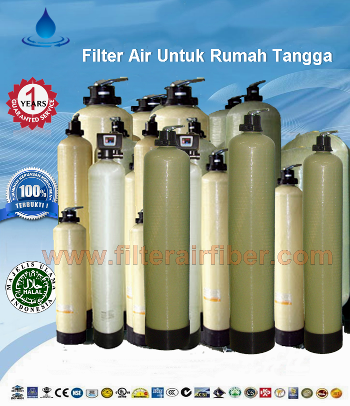 harga jual filter air fiber murah dan bagus Filter air