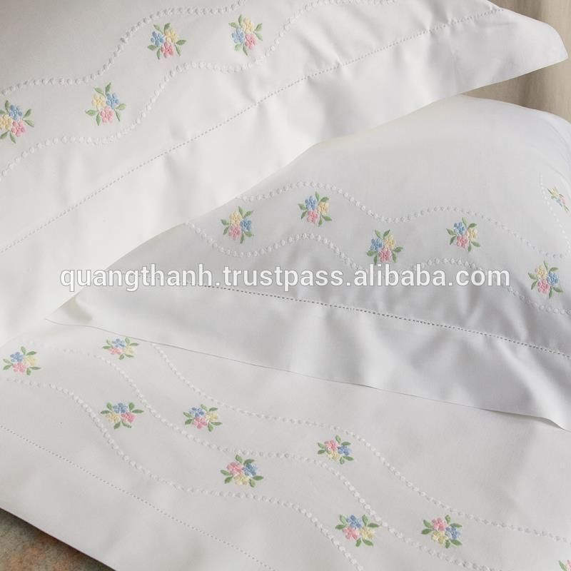 hand embroidery bedding set, View hand embroidery bedding ...